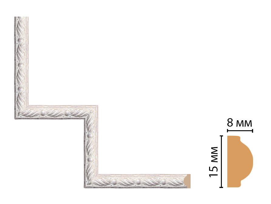 Декоративный угловой элемент DECOMASTER 130-1-19 (200*200мм)