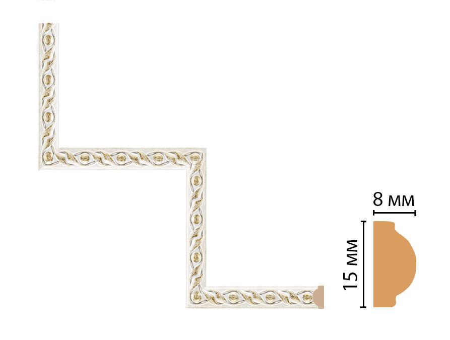 Декоративный угловой элемент DECOMASTER 130-1-40 (200*200мм)