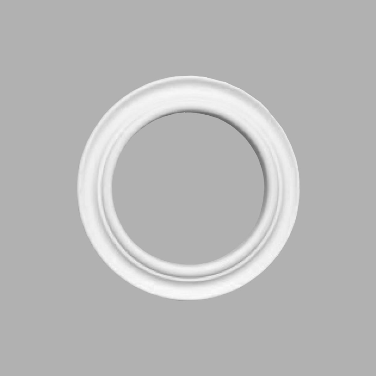 Розетка потолочная DECOMASTER 80205 (внешний диаметр 215мм, внутренний — 140мм)