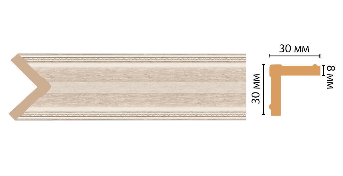 Угол DECOMASTER 116-13 (30*30*2400мм)