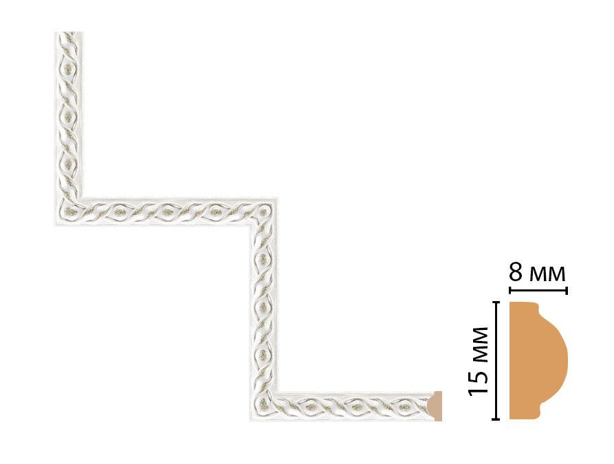 Декоративный угловой элемент DECOMASTER 130-1-42 (200*200мм)