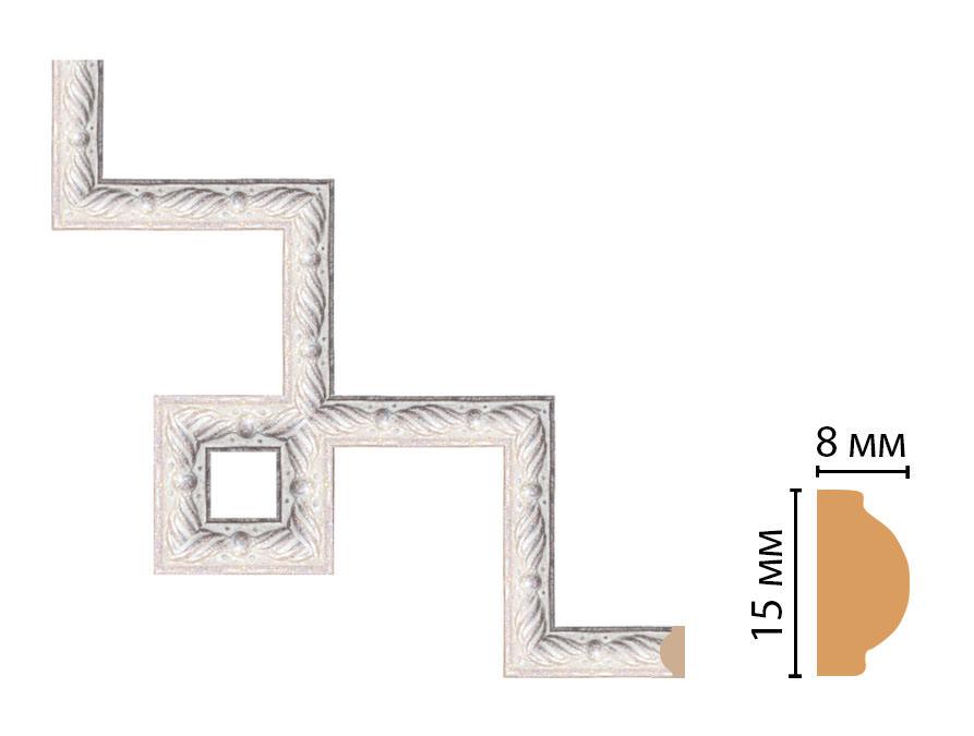Декоративный угловой элемент DECOMASTER 130-3-19 (200*200мм)