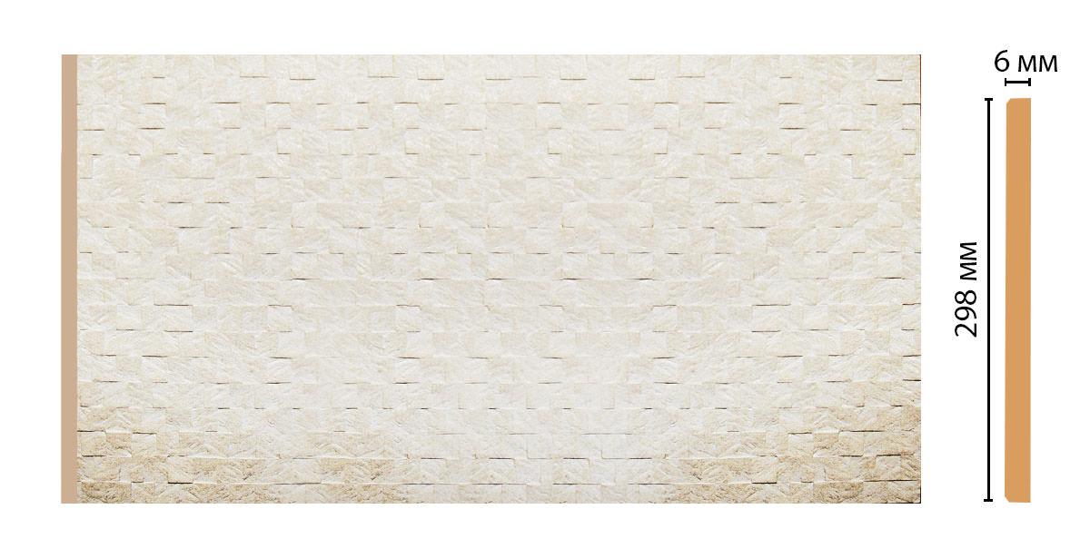 Декоративная панель DECOMASTER R30-22 (298*6*2400мм)