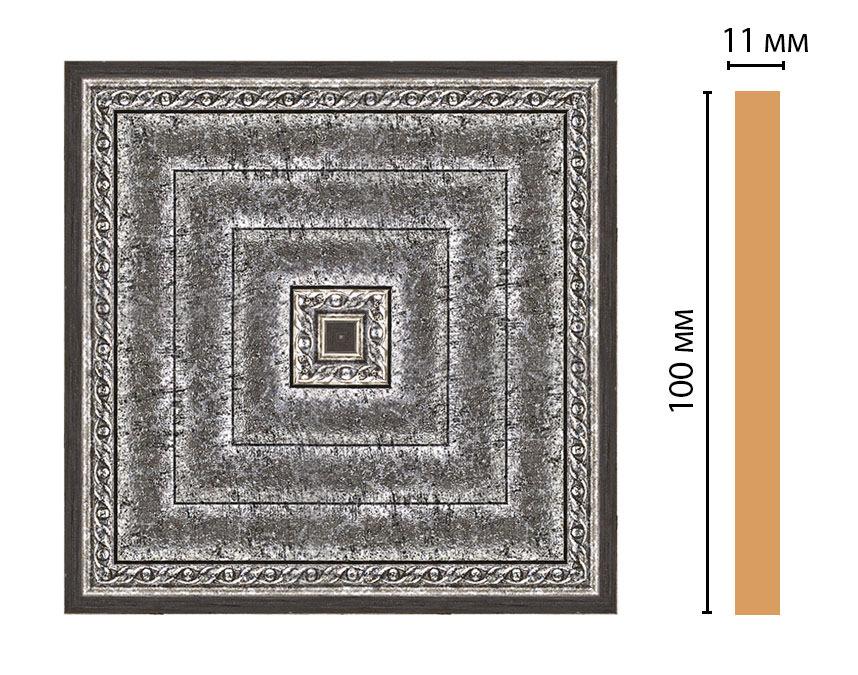 Вставка цветная DECOMASTER 156-2-44 (100*100*11мм)