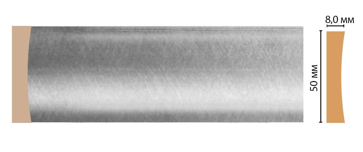 Молдинг DECOMASTER D045-375 (50*8*2400мм)