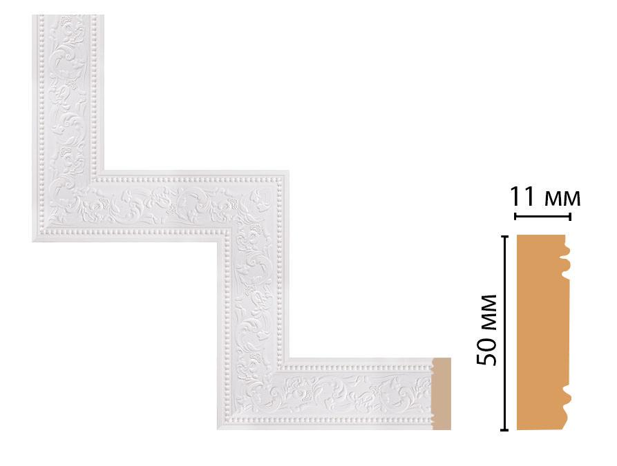Декоративный угловой элемент DECOMASTER 156-1-115 (300*300мм)