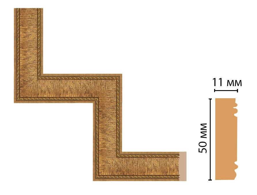 Декоративный угловой элемент DECOMASTER 156-1-4 (300*300мм)
