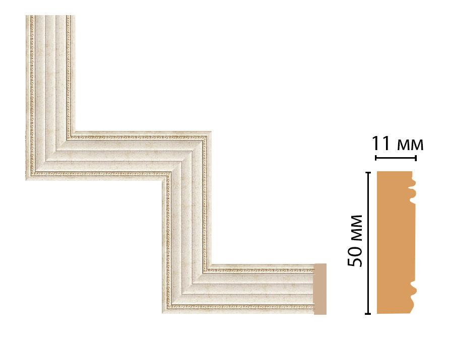 Декоративный угловой элемент DECOMASTER 156-1-41 (300*300мм)