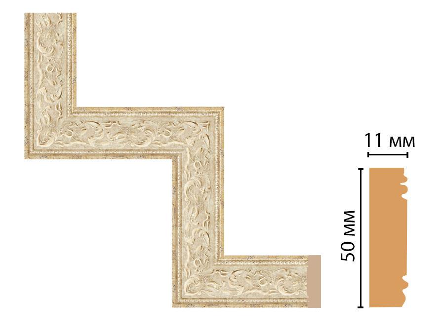 Декоративный угловой элемент DECOMASTER 156-1-553 (300*300мм)