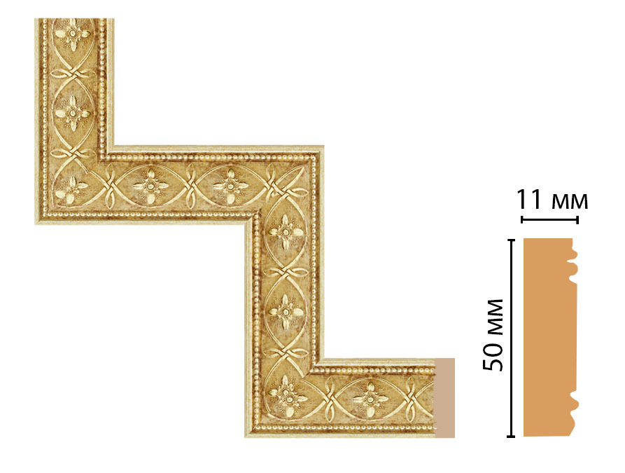 Декоративный угловой элемент DECOMASTER 156-1-933 (300*300мм)