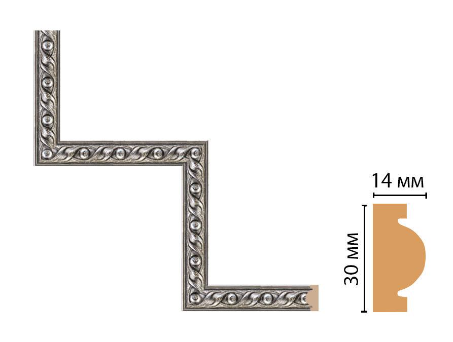 Декоративный угловой элемент DECOMASTER 157-1-44 (300*300мм)