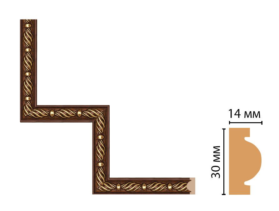 Декоративный угловой элемент DECOMASTER 157-1-51 (300*300мм)