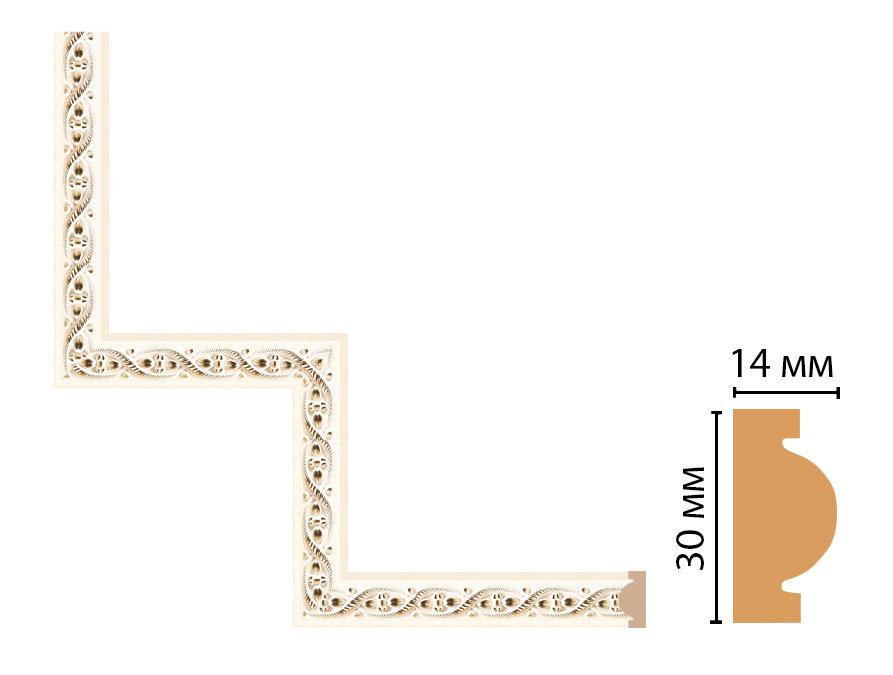 Декоративный угловой элемент DECOMASTER 157-1-6 (300*300мм)