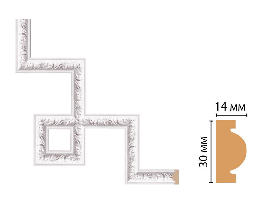 Декоративный угловой элемент DECOMASTER 157-3-115 (300*300мм)