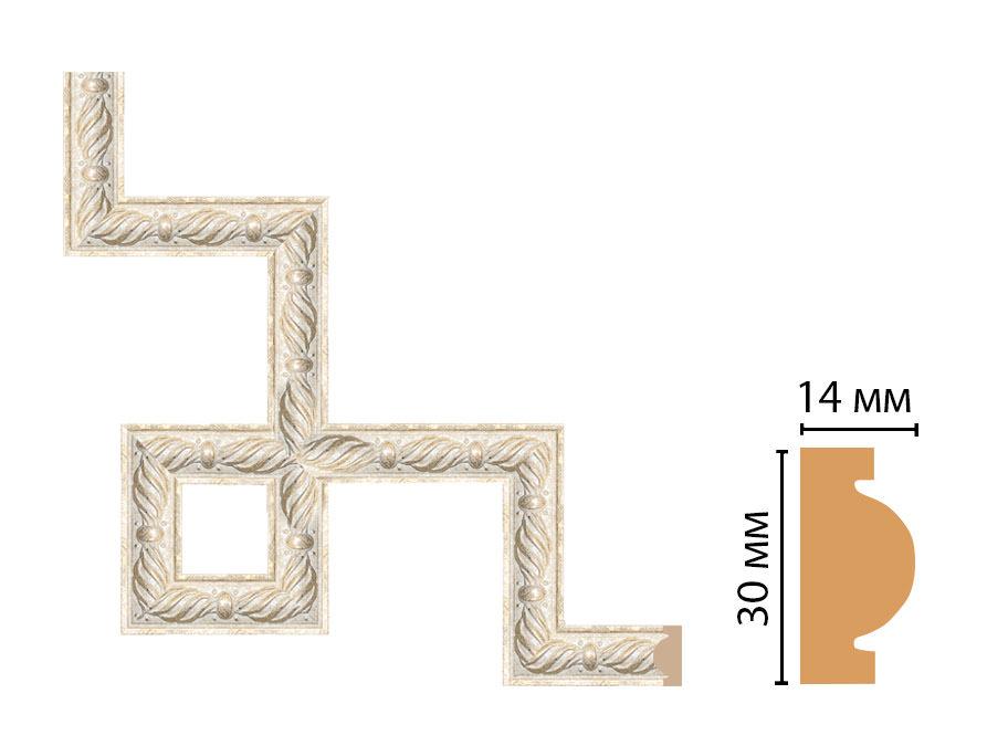 Декоративный угловой элемент DECOMASTER 157-3-18 (300*300мм)