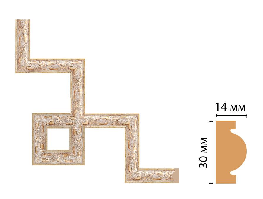 Декоративный угловой элемент DECOMASTER 157-3-553 (300*300мм)