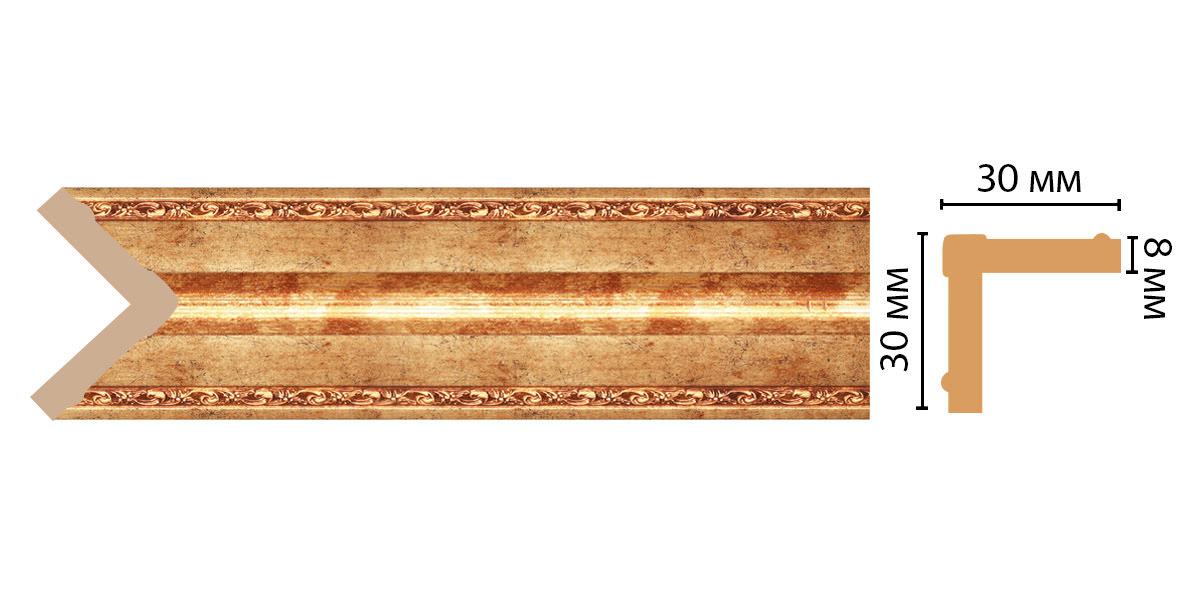 Угол DECOMASTER 116-552ДМ (30*30*2400мм)