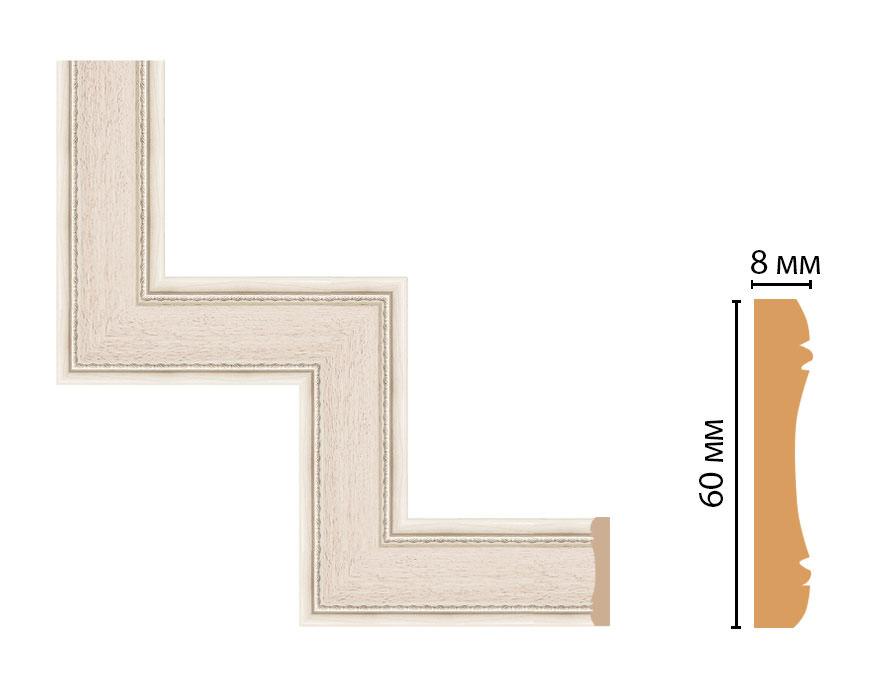 Декоративный угловой элемент DECOMASTER 185-1-13 (300*300мм)