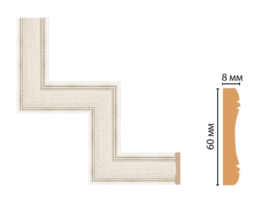 Декоративный угловой элемент DECOMASTER 185-1-15 (300*300мм)