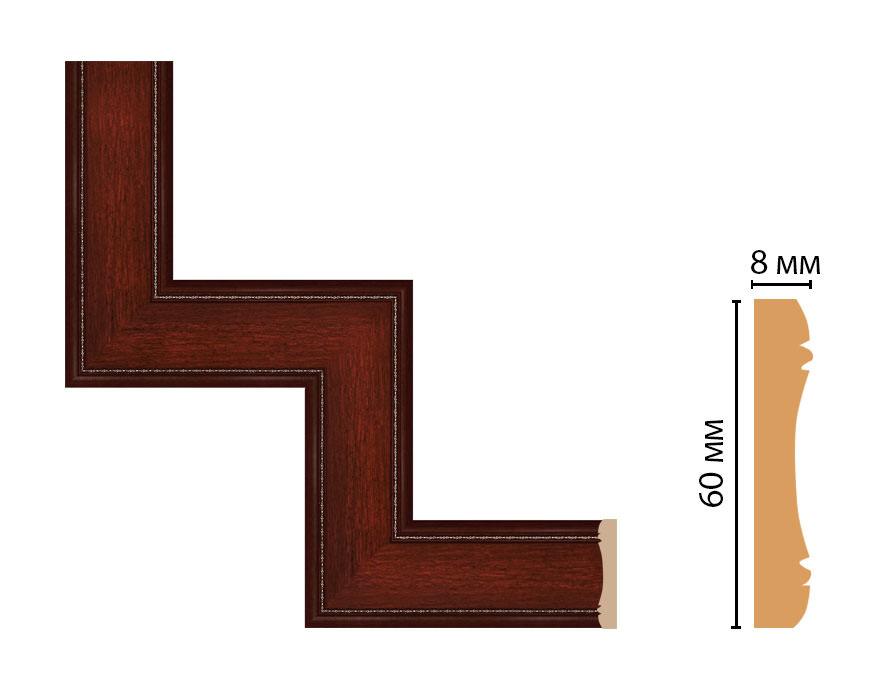 Декоративный угловой элемент DECOMASTER 185-1-52 (300*300мм)