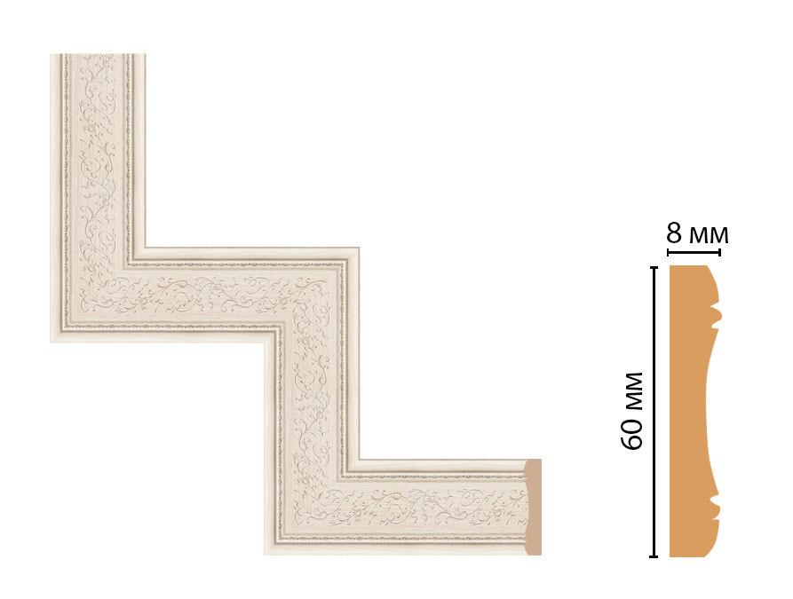 Декоративный угловой элемент DECOMASTER 186-1-13 (300*300мм)