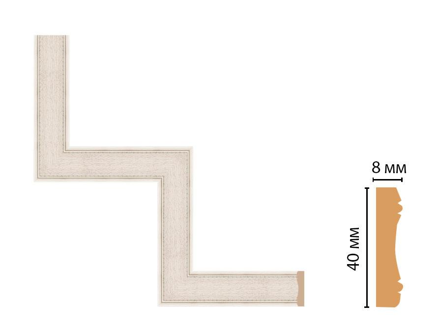 Декоративный угловой элемент DECOMASTER 187-1-13 (300*300мм)