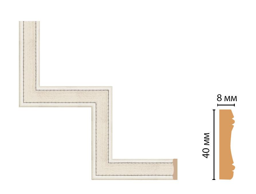 Декоративный угловой элемент DECOMASTER 187-1-15 (300*300мм)