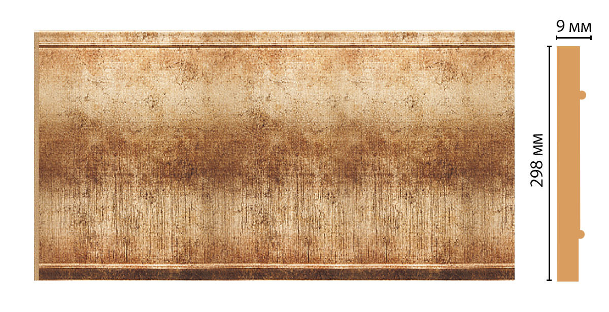 Декоративная панель DECOMASTER B30-126 (298*9*2400мм)