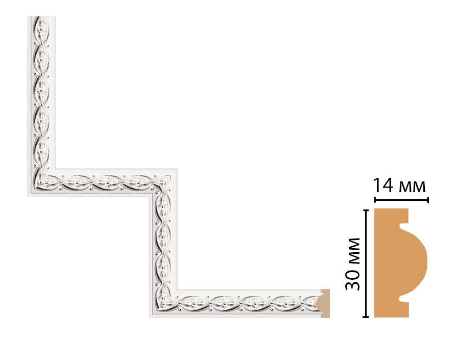 Декоративный угловой элемент DECOMASTER 157-1-7D (300*300мм)