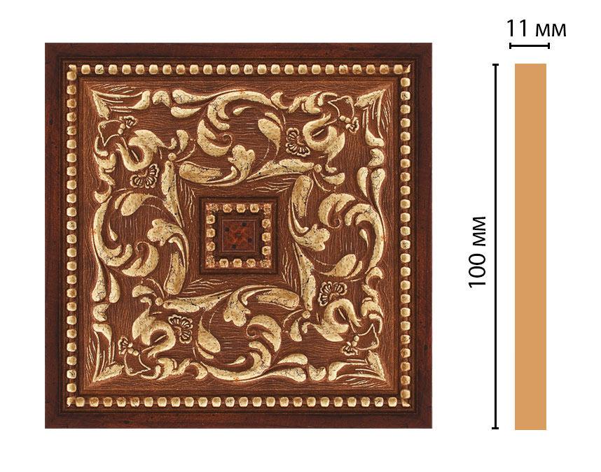 Вставка цветная DECOMASTER 156-2-1084 (100*100*11мм)