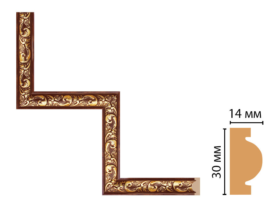 Декоративный угловой элемент DECOMASTER 157-1-1084 (300*300мм)