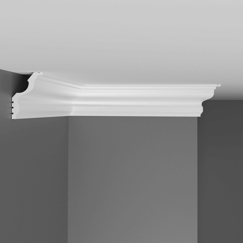 Плинтус потолочный гладкий DECOMASTER D148ДМ (45*30*2000мм)