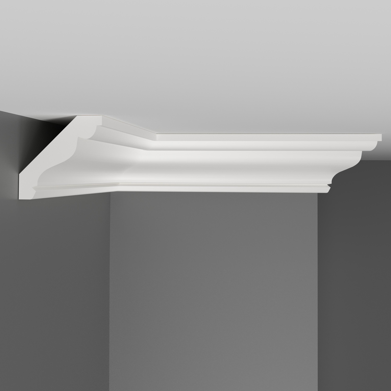 Плинтус потолочный DECOMASTER D155 (50*50*2000мм)