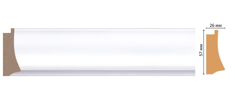Багет DECOMASTER 553-114 (57*26*2900мм)
