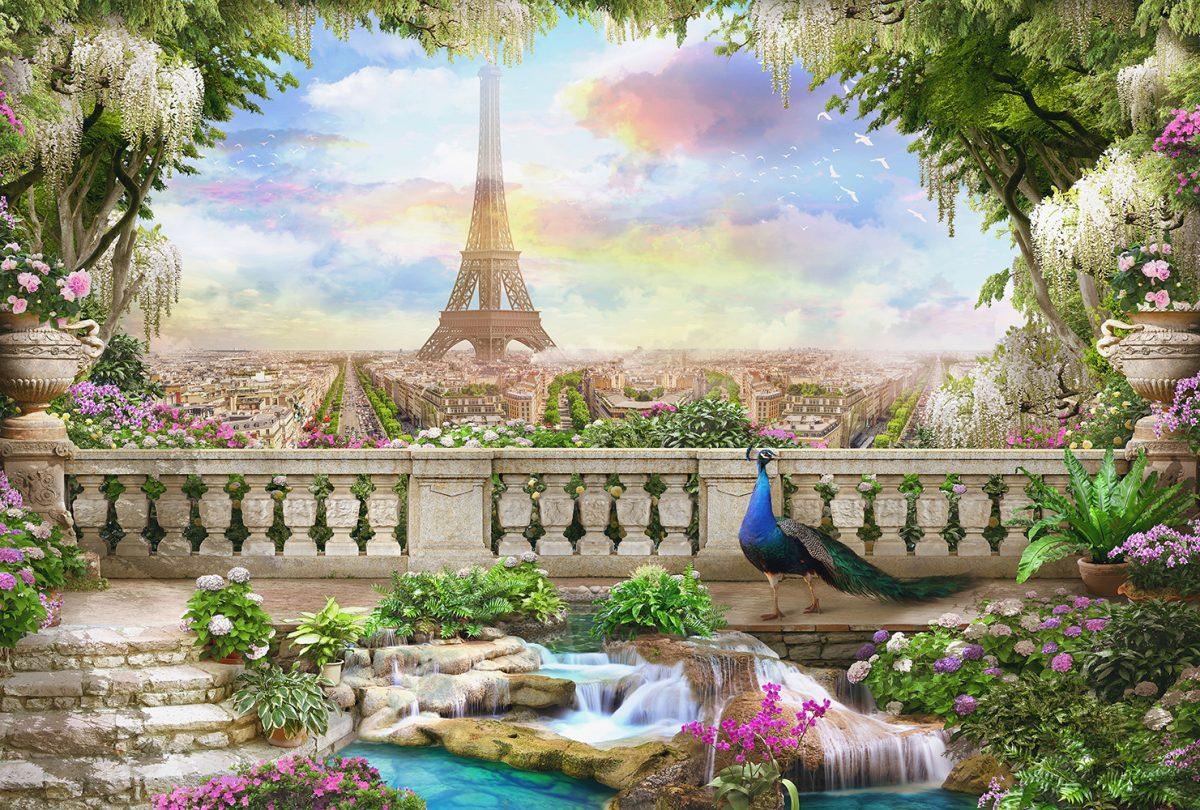Балкон с видом на Париж