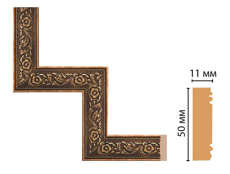 Декоративный угловой элемент DECOMASTER 156-1-57 (300*300мм)