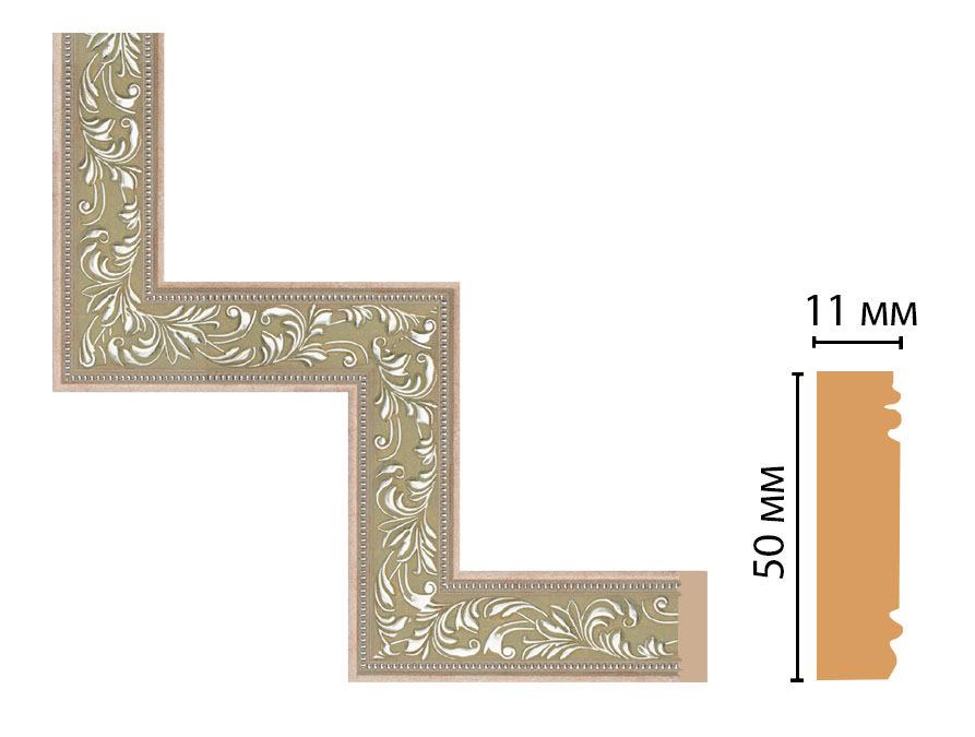 Декоративный угловой элемент DECOMASTER 156-1-59 (300*300мм)