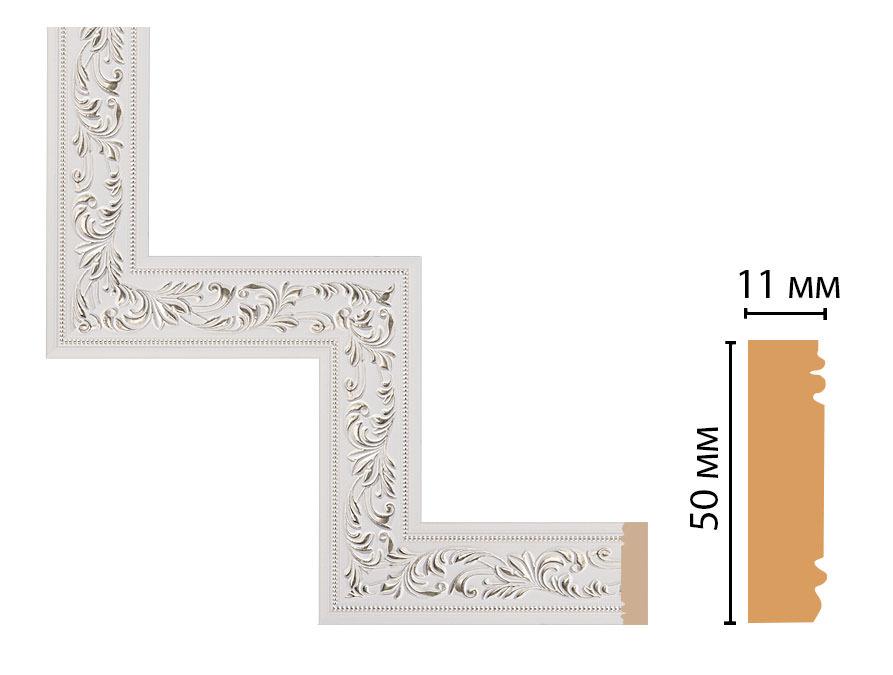 Декоративный угловой элемент DECOMASTER 156-1-60 (300*300мм)