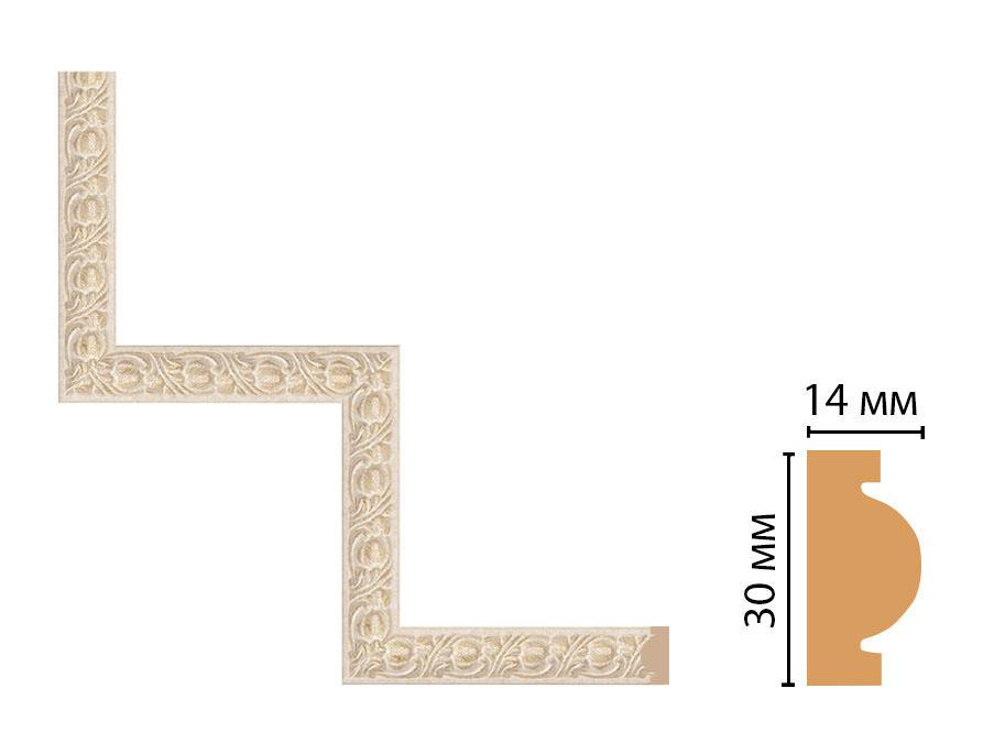 Декоративный угловой элемент DECOMASTER 157-1-18D (300*300мм)
