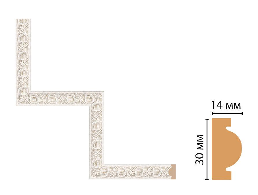 Декоративный угловой элемент DECOMASTER 157-1-19D (300*300мм)