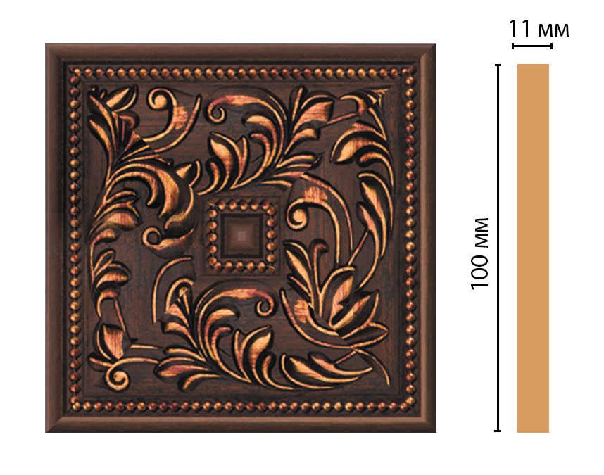 Вставка цветная DECOMASTER 156-2-966 (100*100*11мм)