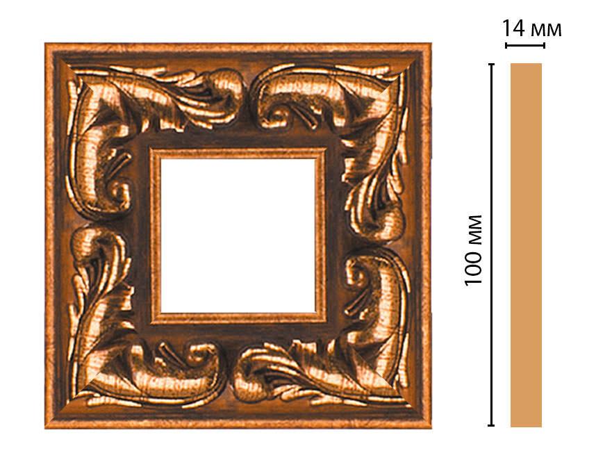 Вставка цветная DECOMASTER 157-2-1223 (100*100*14мм)