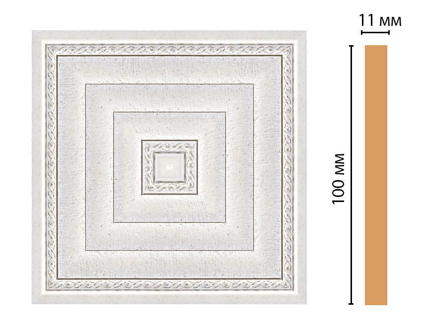 Вставка цветная DECOMASTER 156-2-42 (100*100*11мм)