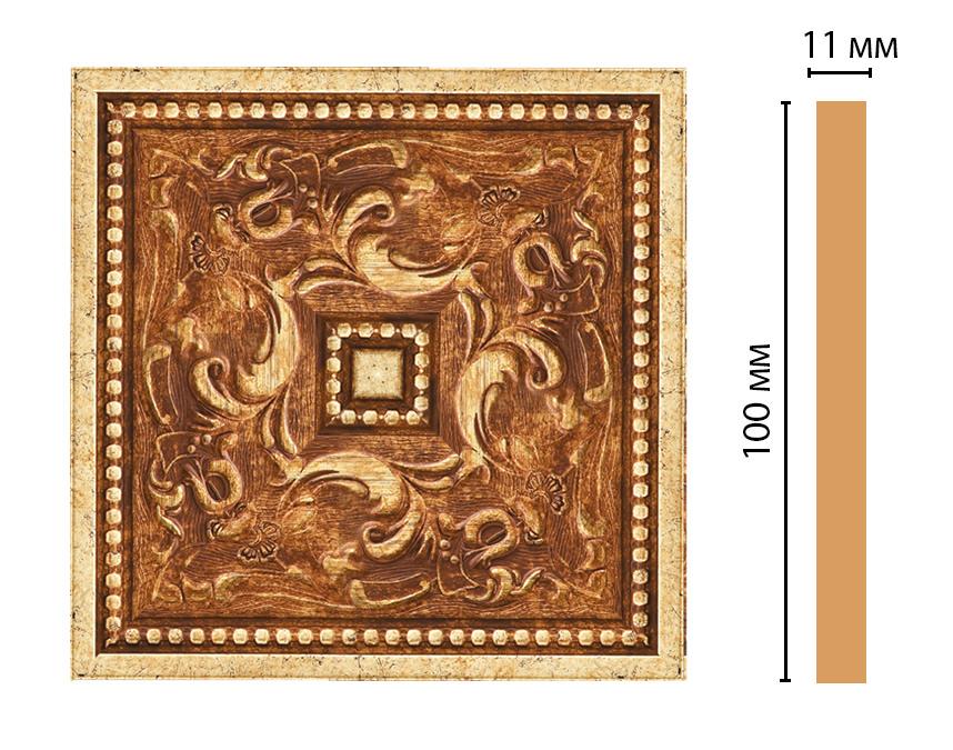 Вставка цветная DECOMASTER 156-2-552 (100*100*11мм)