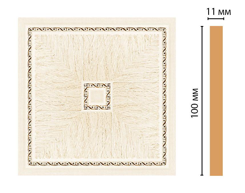 Вставка цветная DECOMASTER 156-2-6 (100*100*11мм)