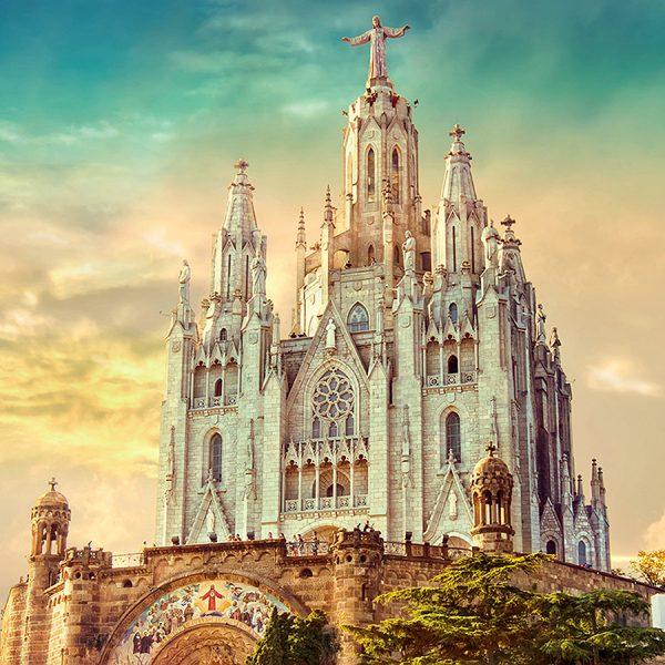 Церковь в Барселоне