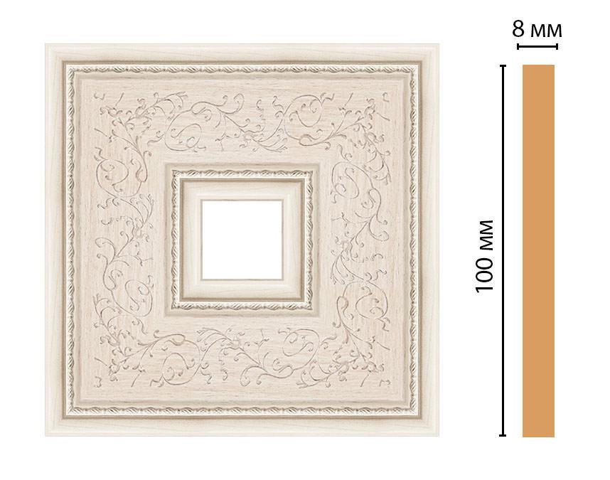 Вставка цветная DECOMASTER 188-2-13 (100*100*8мм)