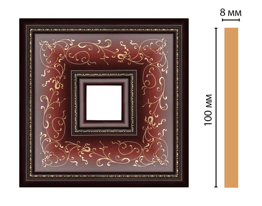 Вставка цветная DECOMASTER 188-2-52 (100*100*8мм)