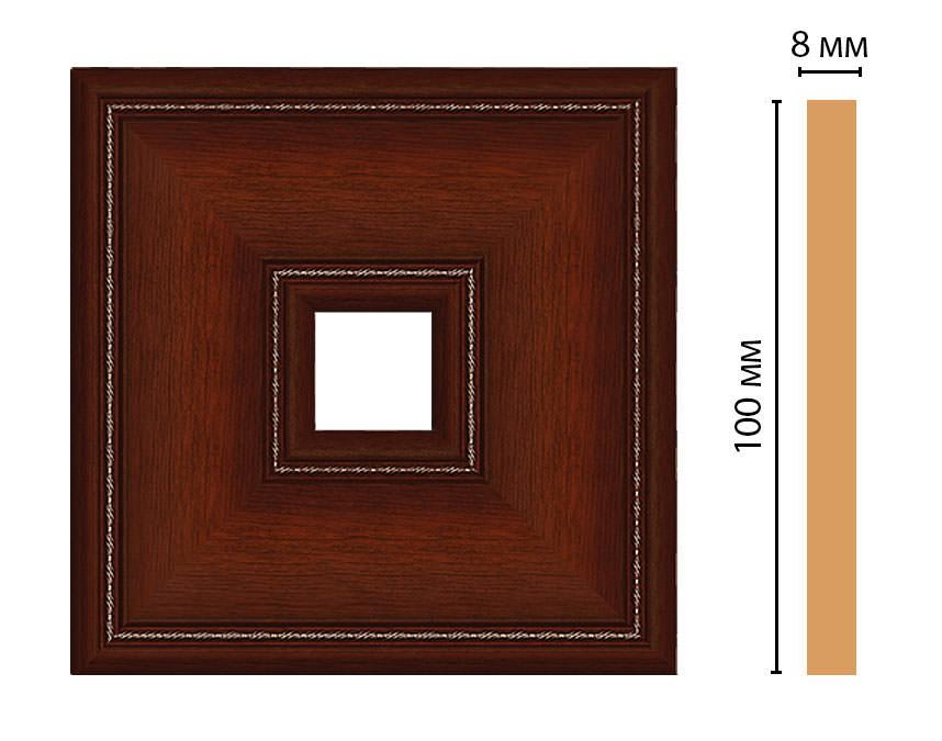 Вставка цветная DECOMASTER 187-2-52 (100*100*8мм)