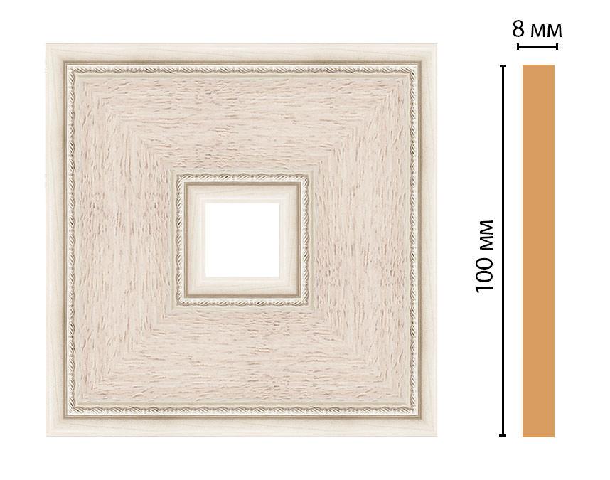 Вставка цветная DECOMASTER 187-2-13 (100*100*8мм)